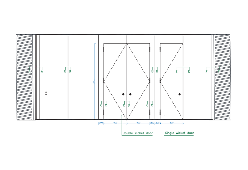 sc-110-h-elevation-section-drawing