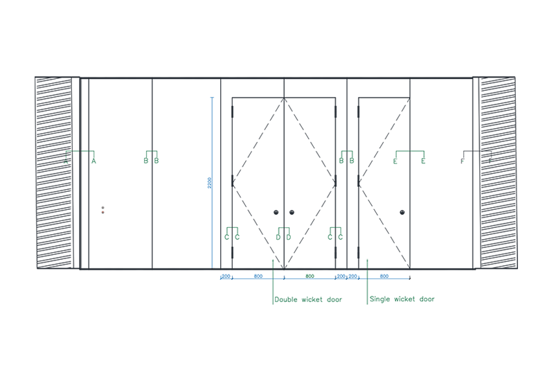 sc-65-h-elevation-section-drawing