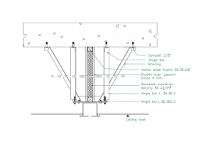 sound-insulating-above-ceiling-double-layer-gypsum